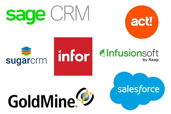 Zoho data migration from sage CRM, act!, sugarcrm, infor, infusionsoft, goldmine, salesforce